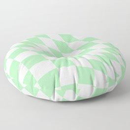 Warped Check  Floor Pillow