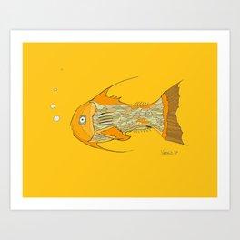 Francis the Fish Art Print