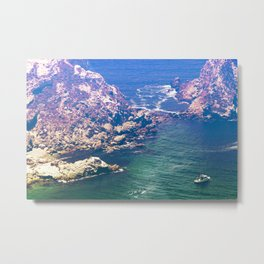 Potato Harbor at The Channel Islands Metal Print
