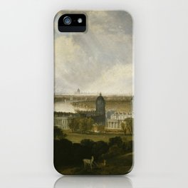"""J.M.W. Turner """"London from Greenwich Park"""" iPhone Case"""
