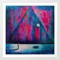 portal Art Prints featuring Portal by Sylwia Borkowska