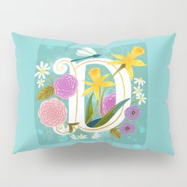 Artsy Alphabet: D Pillow Sham