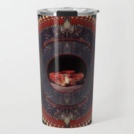 Mandala: Goya (Red)  Travel Mug