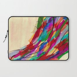 Rainbow Wave Laptop Sleeve