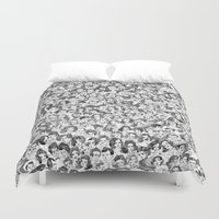 hollywood Duvet Covers featuring Old Hollywood by msjordankay