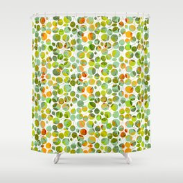 nice_feuilles_Clair Shower Curtain