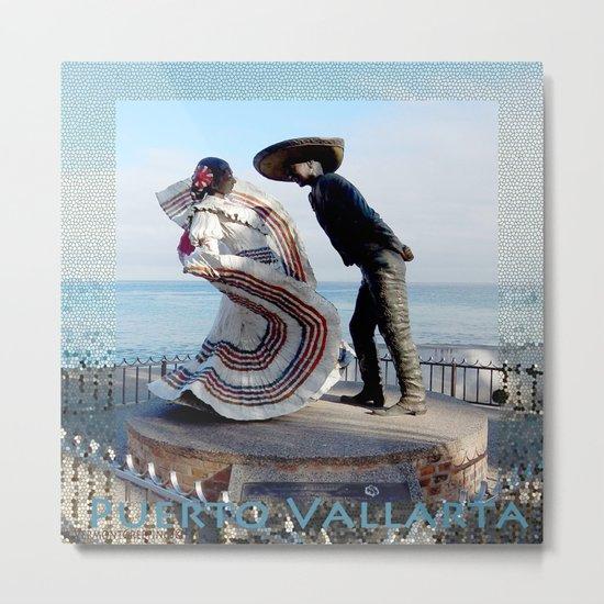 Puerto Vallarta, Mexico Sculpture by the Sea Metal Print