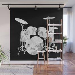 Invert drum Wall Mural