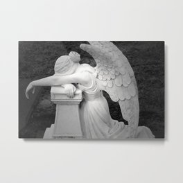 crying angel Metal Print