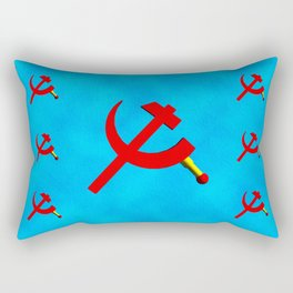 Hammer and Sickle Rectangular Pillow