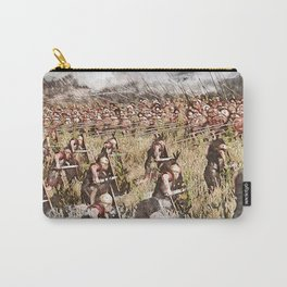 Roman Legion vs Greek Phalanx Carry-All Pouch