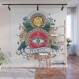 Mystic - Vintage D&D Tattoo Wall Mural