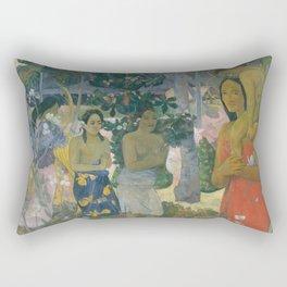 Ia Orana Maria (Hail Mary), Paul Gauguin  Rectangular Pillow