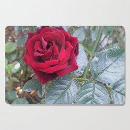 Red Rose Cutting Board