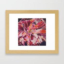 """Peony for Amanda"" Framed Art Print"
