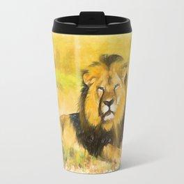 Magnificent Lion Travel Mug