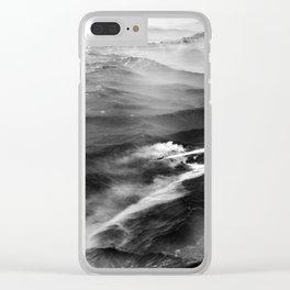 Jet Stream Clear iPhone Case