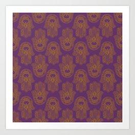 Hamsa I Art Print