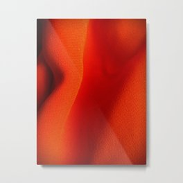 Sensual and Red Metal Print