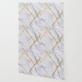 Golden classic marble Wallpaper