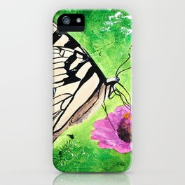 Butterfly - Morning light - by LiliFlore iPhone Case