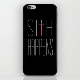Sith Happens iPhone Skin