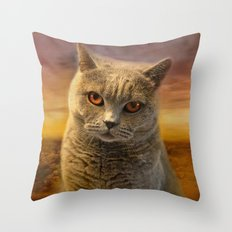 Nice Day Diesel Throw Pillow