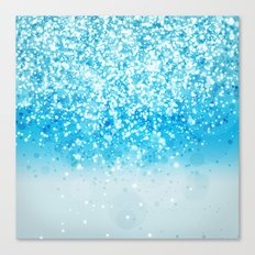 Glitteresques IV:XII Canvas Print