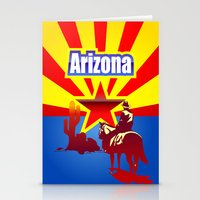 arizona Stationery Cards featuring Arizona by Anfelmo
