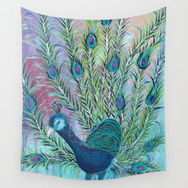 Tail of the Peacock Wall Tapestry