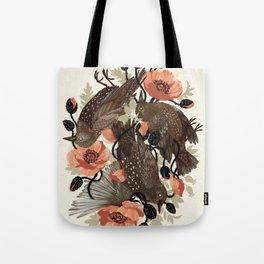 Spangled & Plumed Tote Bag