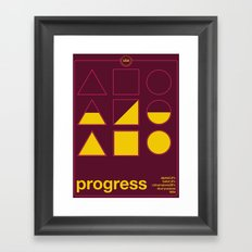progress single hop Framed Art Print