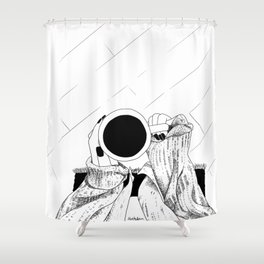 Do you want some coffee? Shower Curtain