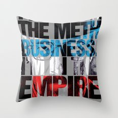 Heisenberg Quote Throw Pillow