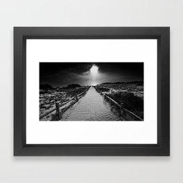 Marconi Beach Framed Art Print