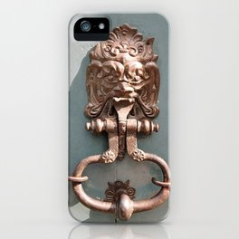 Lions Head iPhone Case