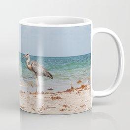 Heron Sand and Surf Coffee Mug