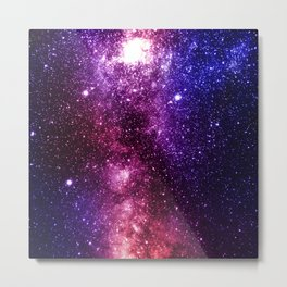 Interstellar Nebula Metal Print