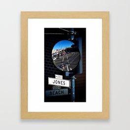Jones & Beach Framed Art Print