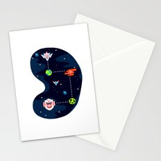 Overworld: Space Stationery Cards