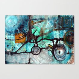 Joining The Dots Canvas Print