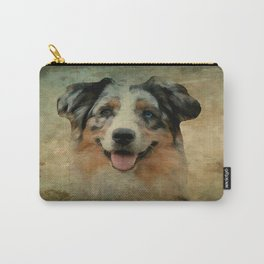 Australian Shepard - Aussie Carry-All Pouch