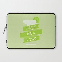 Drop Me A Lime Laptop Sleeve
