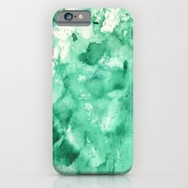 Watercolor abstract patterns that do not exist.Actually there are many color patterns.No.52 iPhone Case