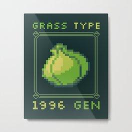 Grass Type Metal Print