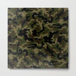 Camouflage Art3 Metal Print
