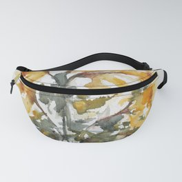 Essence of Daffodil in Watercolor Fanny Pack