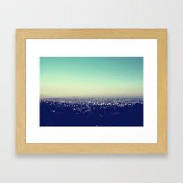 Above Los Angeles Framed Art Print