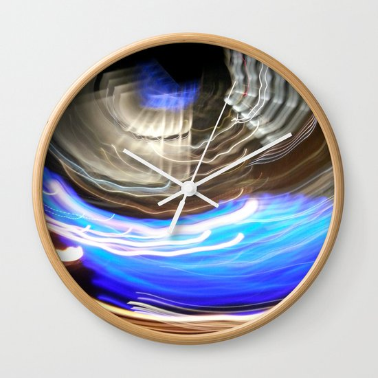 WaterFire (204a) Wall Clock
