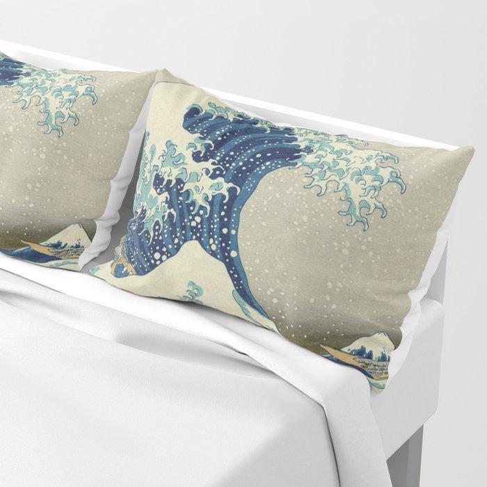The Great Wave off Kanagawa Pillow Sham